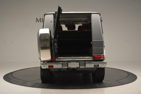 Used 2016 Mercedes-Benz G-Class G 550 for sale Sold at Aston Martin of Greenwich in Greenwich CT 06830 13