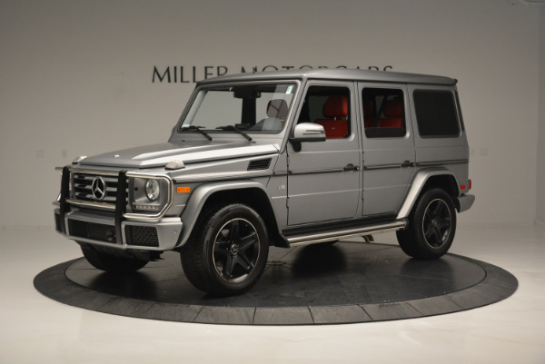 Used 2016 Mercedes-Benz G-Class G 550 for sale Sold at Aston Martin of Greenwich in Greenwich CT 06830 2