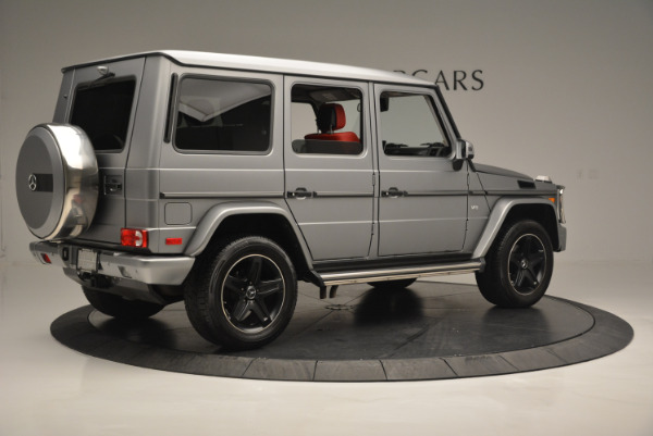 Used 2016 Mercedes-Benz G-Class G 550 for sale Sold at Aston Martin of Greenwich in Greenwich CT 06830 8