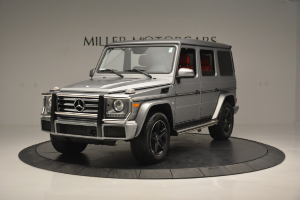 Used 2016 Mercedes-Benz G-Class G 550 for sale Sold at Aston Martin of Greenwich in Greenwich CT 06830 1