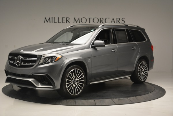 Used 2017 Mercedes-Benz GLS AMG GLS 63 for sale Sold at Aston Martin of Greenwich in Greenwich CT 06830 2