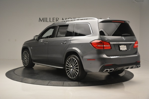 Used 2017 Mercedes-Benz GLS AMG GLS 63 for sale Sold at Aston Martin of Greenwich in Greenwich CT 06830 5