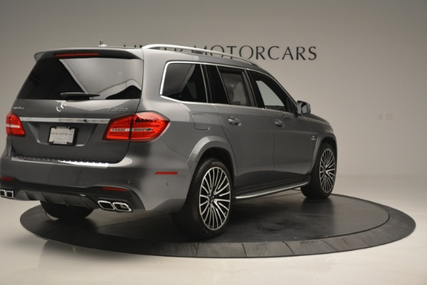 Used 2017 Mercedes-Benz GLS AMG GLS 63 for sale Sold at Aston Martin of Greenwich in Greenwich CT 06830 8