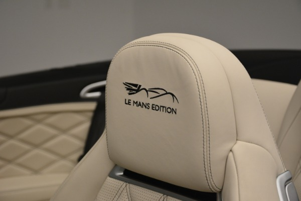 Used 2013 Bentley Continental GT W12 Le Mans Edition for sale Sold at Aston Martin of Greenwich in Greenwich CT 06830 24