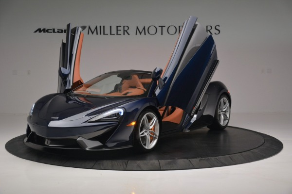 New 2019 McLaren 570S Spider Convertible for sale Sold at Aston Martin of Greenwich in Greenwich CT 06830 14