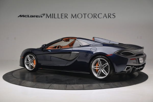 New 2019 McLaren 570S Spider Convertible for sale Sold at Aston Martin of Greenwich in Greenwich CT 06830 4