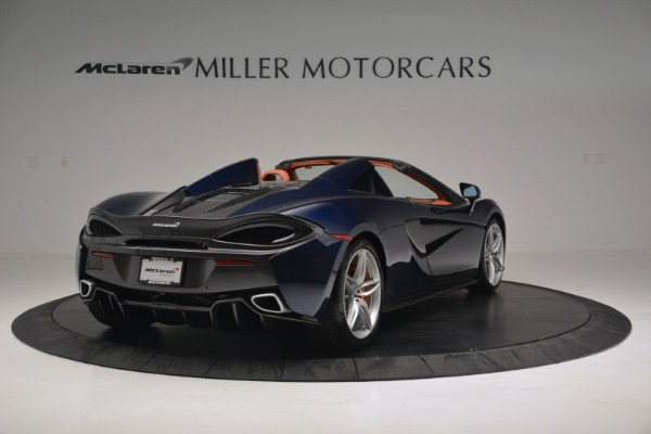 New 2019 McLaren 570S Spider Convertible for sale Sold at Aston Martin of Greenwich in Greenwich CT 06830 7