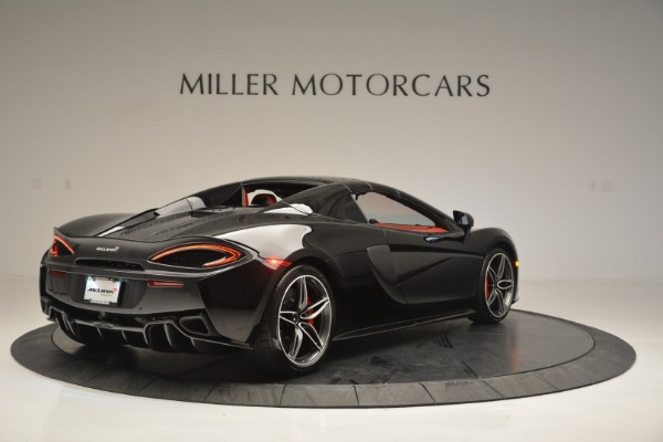 New 2019 McLaren 570S Convertible for sale Sold at Aston Martin of Greenwich in Greenwich CT 06830 19