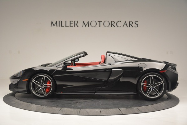New 2019 McLaren 570S Convertible for sale Sold at Aston Martin of Greenwich in Greenwich CT 06830 3