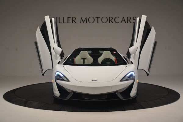 Used 2019 McLaren 570S Spider Convertible for sale $169,900 at Aston Martin of Greenwich in Greenwich CT 06830 13