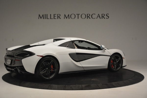 Used 2019 McLaren 570S Spider Convertible for sale $169,900 at Aston Martin of Greenwich in Greenwich CT 06830 19