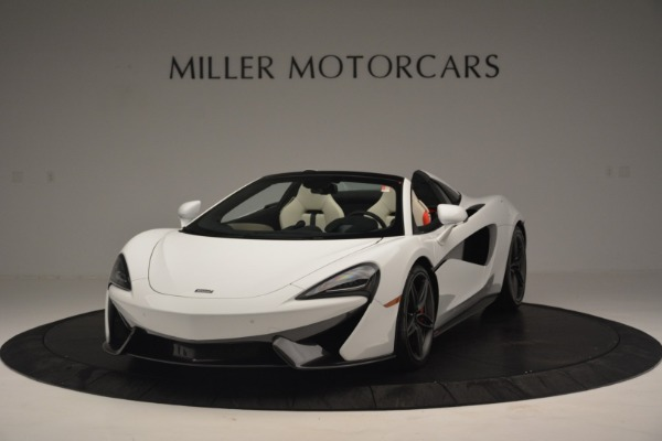Used 2019 McLaren 570S Spider Convertible for sale $169,900 at Aston Martin of Greenwich in Greenwich CT 06830 2