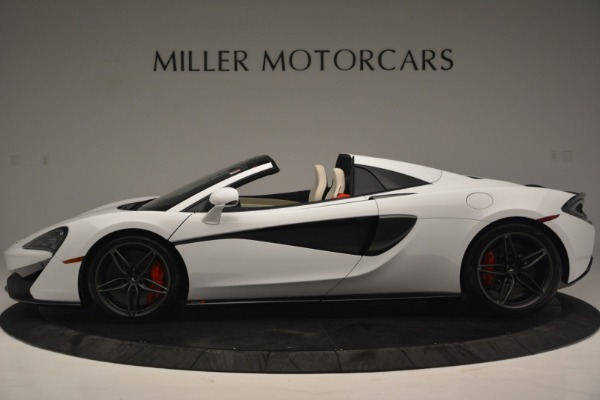 Used 2019 McLaren 570S Spider Convertible for sale $169,900 at Aston Martin of Greenwich in Greenwich CT 06830 3