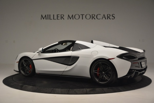 Used 2019 McLaren 570S Spider Convertible for sale $169,900 at Aston Martin of Greenwich in Greenwich CT 06830 4