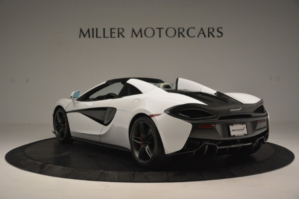 Used 2019 McLaren 570S Spider Convertible for sale $169,900 at Aston Martin of Greenwich in Greenwich CT 06830 5