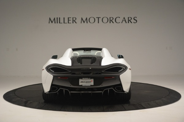 Used 2019 McLaren 570S Spider Convertible for sale $169,900 at Aston Martin of Greenwich in Greenwich CT 06830 6