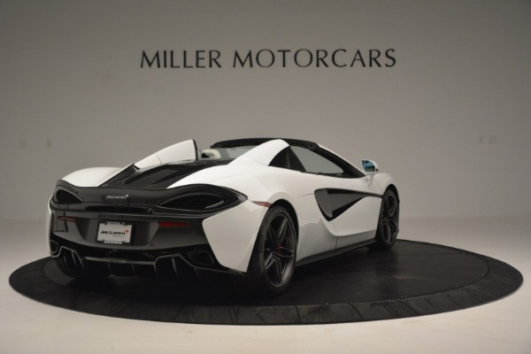 Used 2019 McLaren 570S Spider Convertible for sale $169,900 at Aston Martin of Greenwich in Greenwich CT 06830 7
