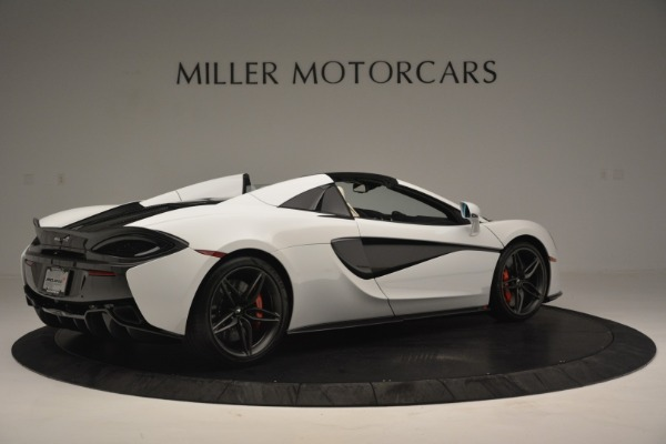 Used 2019 McLaren 570S Spider Convertible for sale $169,900 at Aston Martin of Greenwich in Greenwich CT 06830 8