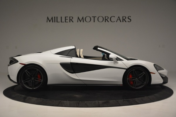 Used 2019 McLaren 570S Spider Convertible for sale $169,900 at Aston Martin of Greenwich in Greenwich CT 06830 9