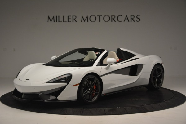 Used 2019 McLaren 570S Spider Convertible for sale $169,900 at Aston Martin of Greenwich in Greenwich CT 06830 1