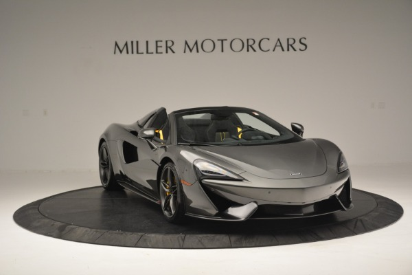 Used 2019 McLaren 570S Spider Convertible for sale Sold at Aston Martin of Greenwich in Greenwich CT 06830 11