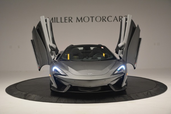 New 2019 McLaren 570S Spider Convertible for sale Sold at Aston Martin of Greenwich in Greenwich CT 06830 13