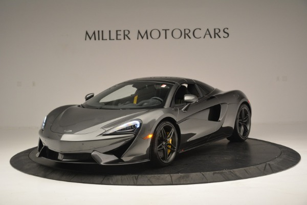 New 2019 McLaren 570S Spider Convertible for sale Sold at Aston Martin of Greenwich in Greenwich CT 06830 15