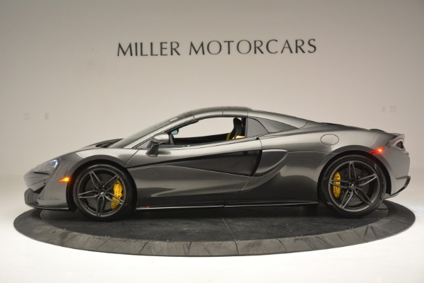 Used 2019 McLaren 570S Spider Convertible for sale Sold at Aston Martin of Greenwich in Greenwich CT 06830 16