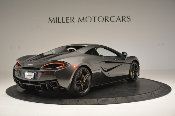 Used 2019 McLaren 570S Spider Convertible for sale Sold at Aston Martin of Greenwich in Greenwich CT 06830 19
