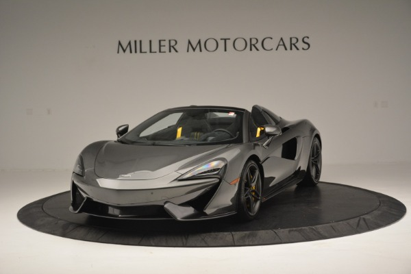 Used 2019 McLaren 570S Spider Convertible for sale Sold at Aston Martin of Greenwich in Greenwich CT 06830 2