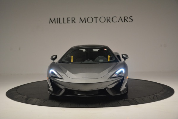 New 2019 McLaren 570S Spider Convertible for sale Sold at Aston Martin of Greenwich in Greenwich CT 06830 22