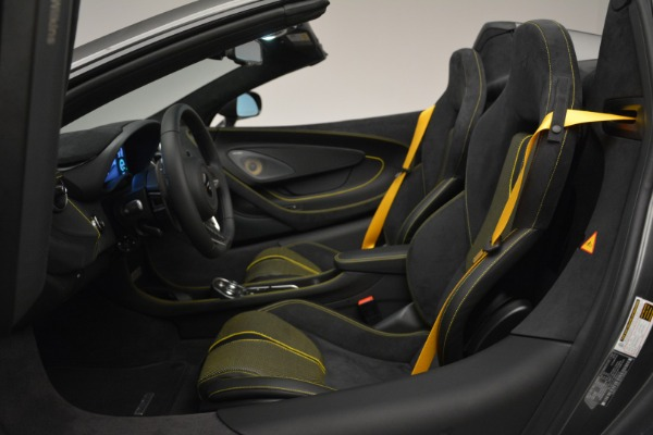 Used 2019 McLaren 570S Spider Convertible for sale Sold at Aston Martin of Greenwich in Greenwich CT 06830 24