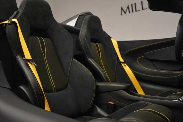 Used 2019 McLaren 570S Spider Convertible for sale Sold at Aston Martin of Greenwich in Greenwich CT 06830 27