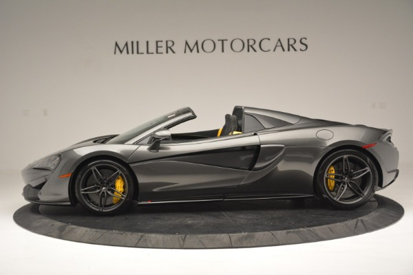 Used 2019 McLaren 570S Spider Convertible for sale Sold at Aston Martin of Greenwich in Greenwich CT 06830 3
