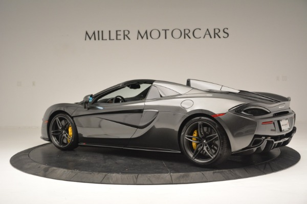 Used 2019 McLaren 570S Spider Convertible for sale Sold at Aston Martin of Greenwich in Greenwich CT 06830 4