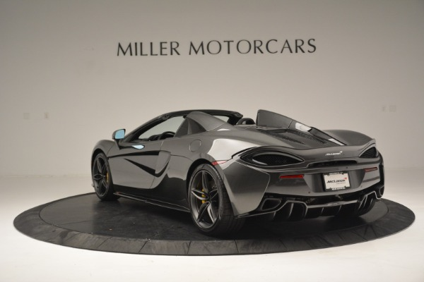 Used 2019 McLaren 570S Spider Convertible for sale Sold at Aston Martin of Greenwich in Greenwich CT 06830 5