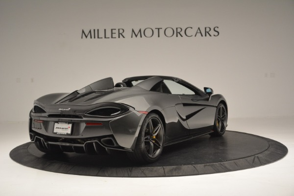 Used 2019 McLaren 570S Spider Convertible for sale Sold at Aston Martin of Greenwich in Greenwich CT 06830 7