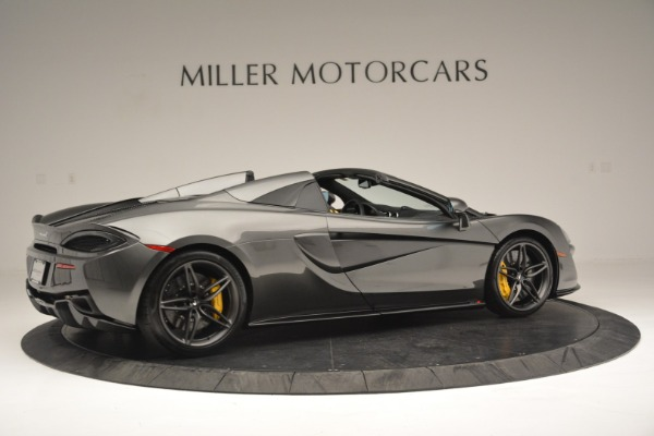 Used 2019 McLaren 570S Spider Convertible for sale Sold at Aston Martin of Greenwich in Greenwich CT 06830 8