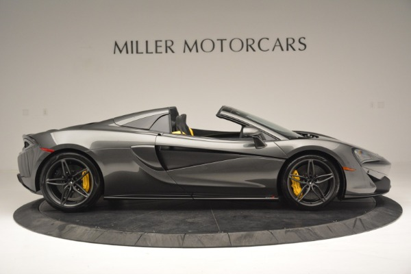 Used 2019 McLaren 570S Spider Convertible for sale Sold at Aston Martin of Greenwich in Greenwich CT 06830 9