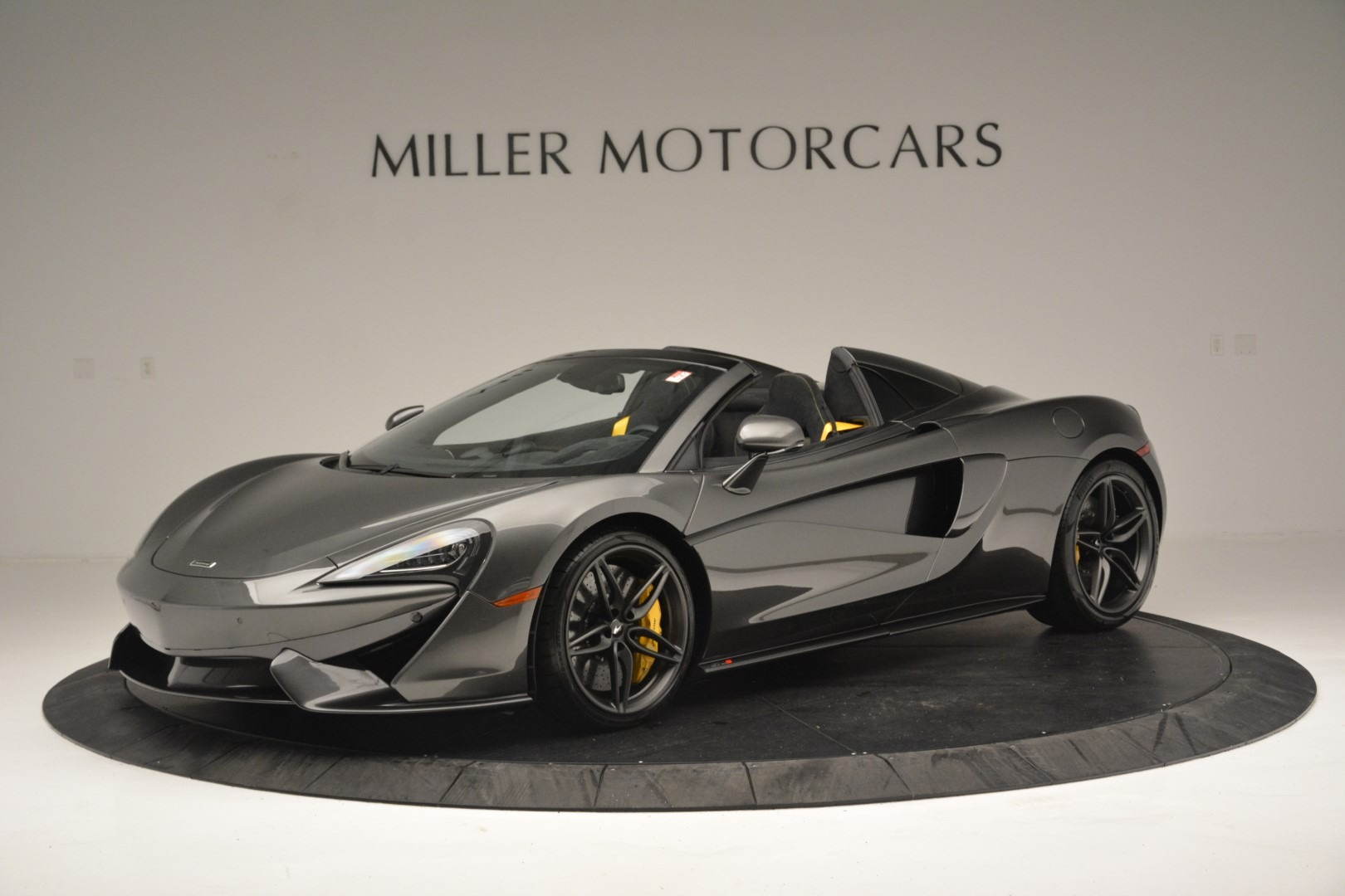 Used 2019 McLaren 570S Spider Convertible for sale Sold at Aston Martin of Greenwich in Greenwich CT 06830 1
