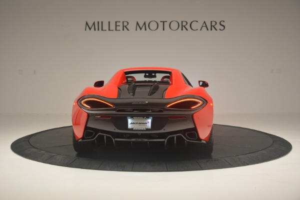 New 2019 McLaren 570S Spider Convertible for sale Sold at Aston Martin of Greenwich in Greenwich CT 06830 17