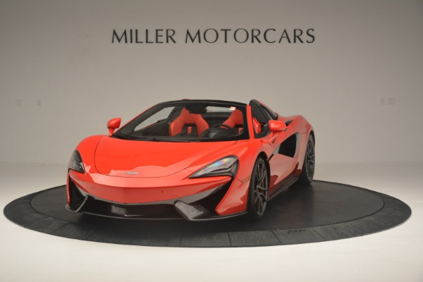 New 2019 McLaren 570S Spider Convertible for sale Sold at Aston Martin of Greenwich in Greenwich CT 06830 2