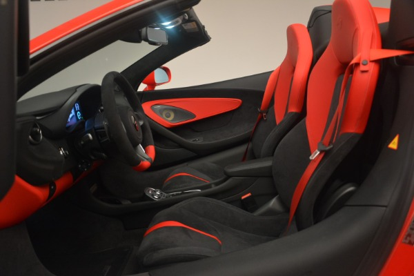 New 2019 McLaren 570S Spider Convertible for sale Sold at Aston Martin of Greenwich in Greenwich CT 06830 23