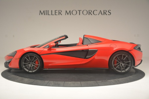 New 2019 McLaren 570S Spider Convertible for sale Sold at Aston Martin of Greenwich in Greenwich CT 06830 3