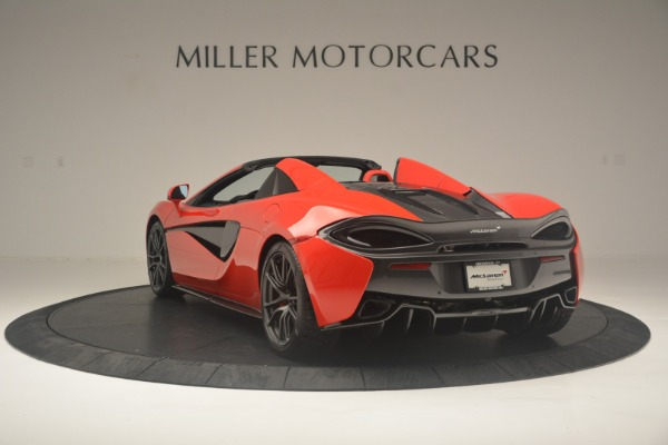New 2019 McLaren 570S Spider Convertible for sale Sold at Aston Martin of Greenwich in Greenwich CT 06830 5