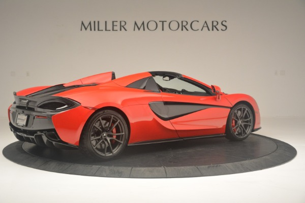 New 2019 McLaren 570S Spider Convertible for sale Sold at Aston Martin of Greenwich in Greenwich CT 06830 8
