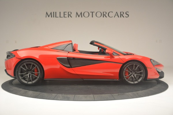 New 2019 McLaren 570S Spider Convertible for sale Sold at Aston Martin of Greenwich in Greenwich CT 06830 9