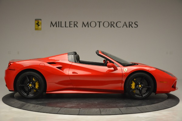 Used 2018 Ferrari 488 Spider for sale Sold at Aston Martin of Greenwich in Greenwich CT 06830 9