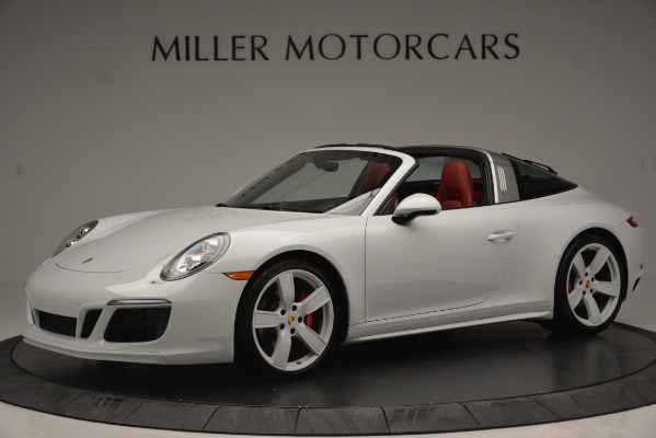Used 2017 Porsche 911 Targa 4S for sale Sold at Aston Martin of Greenwich in Greenwich CT 06830 2