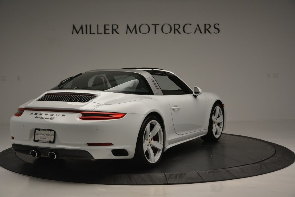 Used 2017 Porsche 911 Targa 4S for sale Sold at Aston Martin of Greenwich in Greenwich CT 06830 7